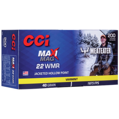 CCI 22 WMR 40 GR JHP MAXIMAG Meat Eater (200)