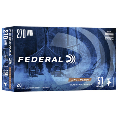 Federal 270 Win 150 Gr SP Power-Shok (20)