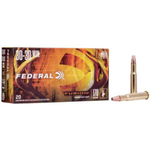 Federal 30-30 Win 170 Gr SP Fusion (20)