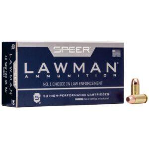 Speer 40 S&W 165 Gr Lawman TMJ (50)