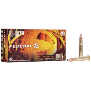 Federal 30-30 Win 150 Gr SP Fusion (20)